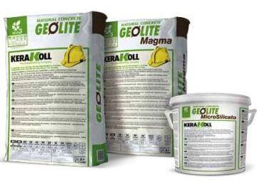 Kerakoll Geolite beton helyreállító geo-kötőanyag